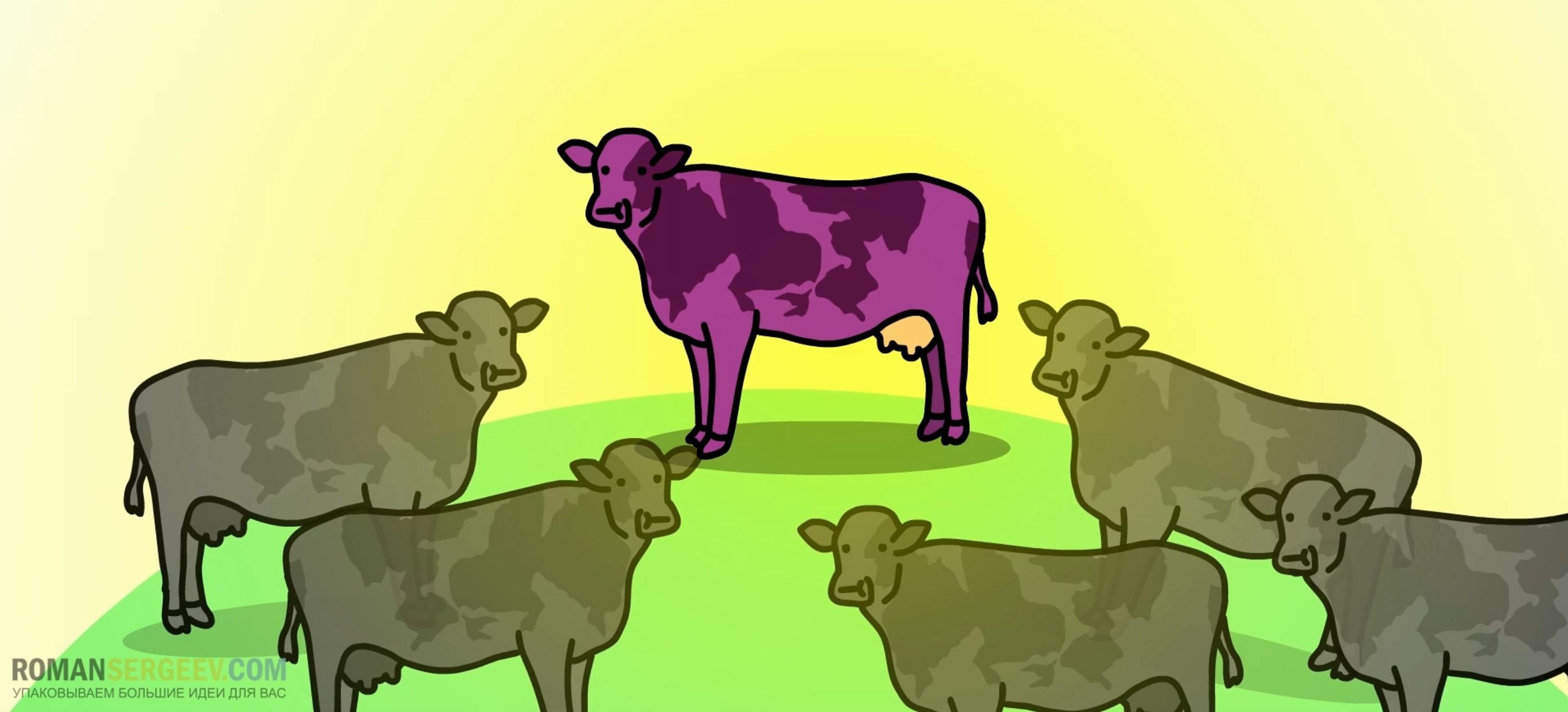 Фиолетовая корова Сет Годин